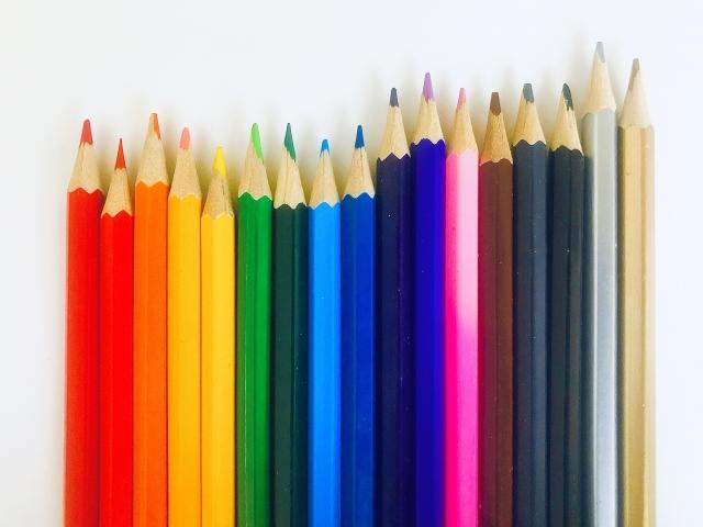 好きな色で性格が分かる